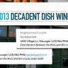 Gio Wins Two Decadent Dish Awards for 2013