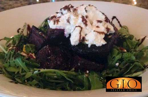 roasted beet and goat cheese appetizer