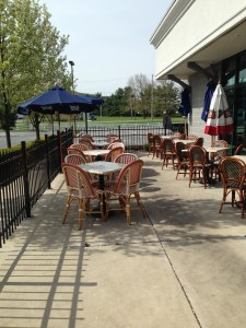 Come enjoy our patio!