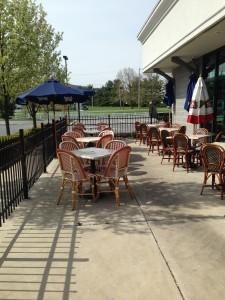 Come enjoy our patio!